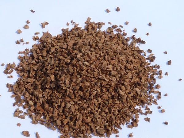 Kamštinės granulės 3 - 5mm