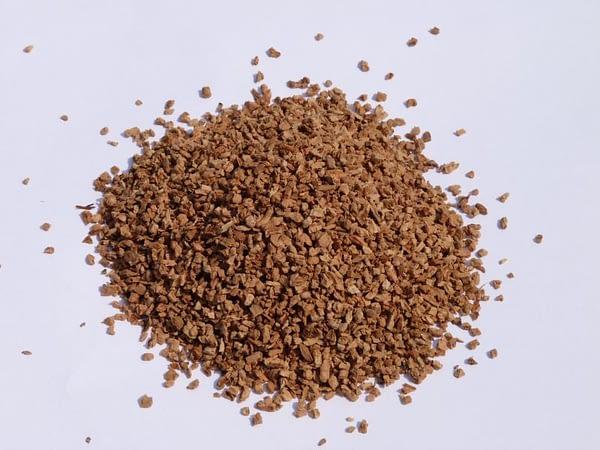 Kamštinės granulės 2 - 3mm